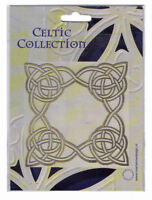 Brass/Stencil/Template/Celtic/Square/Cutting/Emboss/NEW/CT6009