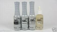 4 Items - ORLY Gel FX .3OZ - PRIMER, GEL BASE, GEL TOP, CUTICLE OIL - BRAND NEW