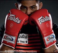 FAIRTEX PRO TRAINING GLOVES MEXICAN STYLE LACE-UP VERSION BGL7 10Days MADE/ORDER