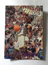 1995 Topps Extreme Corps NBA Basketball Card #127 Karl Malone Utah Jazz