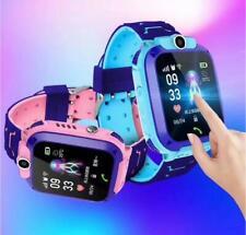 Kinder Uhr GPS Tracker Schrittzähler SIM SOS Smartwatch Wasserdicht Armbanduhr