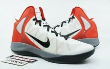 the latest eaa85 40092 NIKE ZOOM HYPERENFORCER NEW SIZE 15 WHITE RED BLACK GREY 487786 102