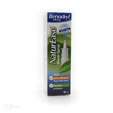 New Benadryl Allergy NaturEase Nasal Spray 10ml