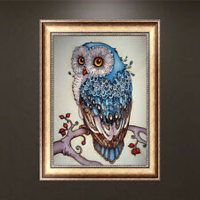 DIY 5D Diamond Embroidery Painting Owl Animal Cross Stitch Craft Home Decor