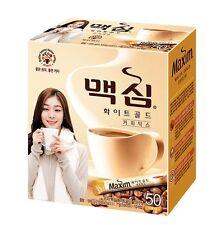 Korean Instant Coffee Mix Maxim White Gold 50 Sticks