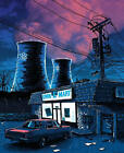 Tim Doyle Night Falls on the SNPP Simpsons Variant AP Remarque