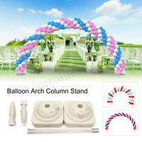 DIY Balloon Arch Frame Column Water Base Stand Kit Wedding Birthday Party