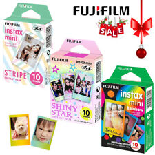 Fujifilm Instax Mini Rainbow/Stripe/Shiny Star 30Pcs Film - 8 9 25 50 70 Ca
