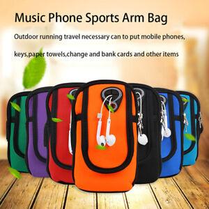Sports Arm Band Mobile Phone Holder Bag Running Jogging Gym Armband Exercise Gt