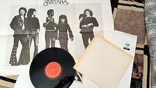 SANTANA Abraxas SE A CABO SAMBA PA TI BLACK MAGIC WOMAN LP 33 rpm vinyl record