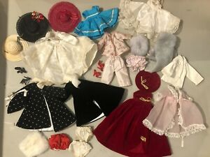"""1950's Vintage Doll CLOTHES LOT, 8"""" Doll, Ginger, Vogue,  Ginny,"""