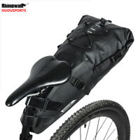Waterproof Bicycle tail bag Under seat Storage Bike rear pack pannier 5/10/13L