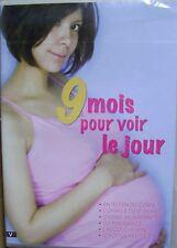 DVD  9 mois pour voir le jour  la grossesse l'accouchement le foetus /H18