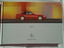 Mercedes SL brochure May 2000 German text hardbacked