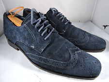 Vionic Harrison Blue  Men's Wingtip Dress Shoes with Arch Support Size 8