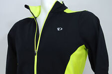 PEARL iZUMi Select Thermal Long Sleeve Cycling Jersey Black/Neon Yellow, Small