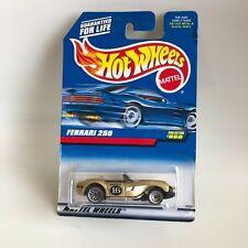 Hot Wheels Mattel Ferrari 250 Collector# 866 Gold GB9