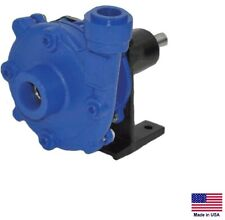 "CENTRIFUGAL PUMP - Cast Iron - Belt Driven - 3/4"" & 1/2"" Ports - 2,100 GPH"