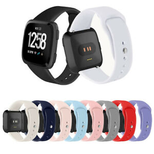 For Fitbit Versa / Versa 2 /Lite Silicone Strap Wristband Replacement Watch Band
