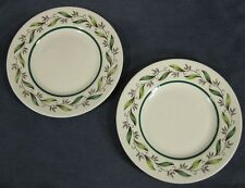 Royal Doulton ALMOND WILLOW D6373 Bread & Butter Plates Lot of 2