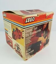 Vintage Lego by Samsonite Basic Set 426 piece Box only no blocks
