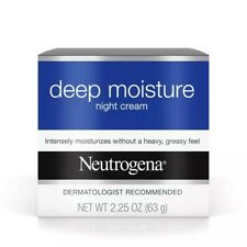 Neutrogena Deep Moisture Night Cream with Vitamin D3 , 2.25 Ounce (New)