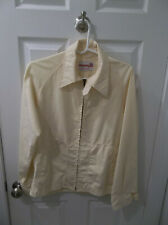 Vintage McGregor Pale Light Yellow Drizzler Rain Jacket Size 40