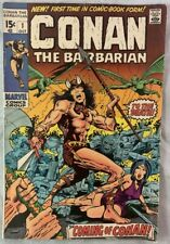 Conan the Barbarian Comic Book #1 1970 / 1st Appearance + Origin