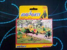 Majorette Majokit 787 1Car+4 Figures+Accerories Vintage
