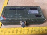 RAF Aluminium Tool Box/Case. NSN: 5140-12-195-2944. Ex MOD