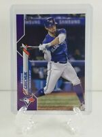 Topps 2020 Series 1 Baseball Card #231 Randal Grichuk Meijer Purple Parallel