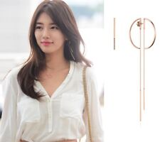 DIDIER DUBOT CHIC D EARRINGS Signature D JDREPSF40ZC Miss A SUZY IDOL Arafeel