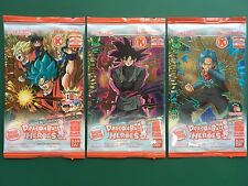 Dragon Ball Heroes Circle K Campaign 3pcs Promo Cards Complete Set FREE SHIPPING