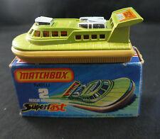 Matchbox Superfast n°2 ◊ Rescue Hovercraft ◊ 1/64  ◊ boxed / en boîte