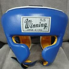 Rare MINT Winning Boxing Head guard headgear Old logo made in JAPAN FedEx ship