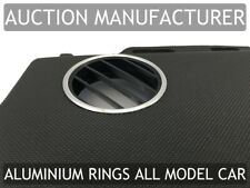 Pour VW New Beetle 98-10 2 X Anneaux De Ventilation Chromes Aluminium Poli