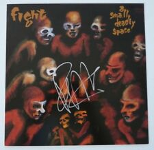 Rob Halford Judas Priest FIGHT Auto'd Signed 12x12 LP Poster Flat BAS Guaranteed