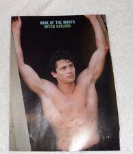 Josh Brolin & Mitch Gaylord TV stars pin up pics full color photo shirtless SEXY