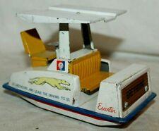RARE Vintage 1964 New York Worlds Fair GREYHOUND BUS ESCORTER Toy~Japan M.I Tin