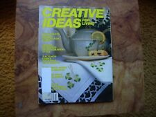 Creative Ideas For Living Magazine March 1985