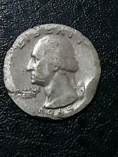 Quarter dollar 1965 with mint defects