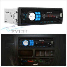 1Din Autos Bluetooth Stereo MP3 Player Unit Support AUX FM USB TF 4 Channel RCA