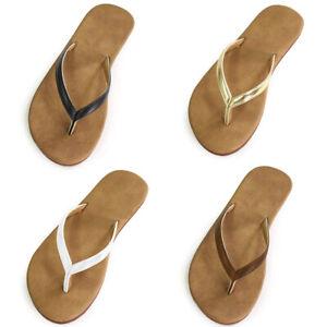 LAVRA Women's Comfy Flip-Flops Thong Flat Slippers Slip-On Sandals