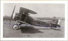 WWI 1920s USAAC 22nd Aero Observation Squadron SPAD S.XIII Airplane Photo