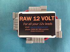 Anderson Plug Power Box Solar 12 Volt Caravan Camping