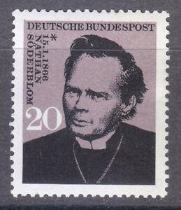 Germany 1966 MNH Mi 504 Sc 959 Nathan Soderblom.Swedish clergyman.Nobel Prize **