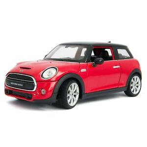 MINI Cooper S red - Welly 1:24 Scale Diecast Model Car