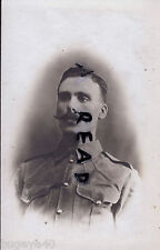 WW1 soldier D P McDonnell regiment unknown wears KD Tunic Egypt ? India ?