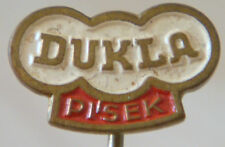 DUKLA PISEK / VTJ PISEK Vintage 60s Club crest type badge Stick pin 15mm x 9mm