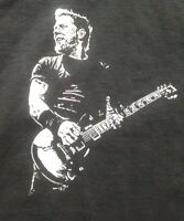 Metallica James Hetfield Vintage style guitar hand printed t shirt sm-5xlg blk